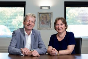 Prof. Matthew Freeman and Dr. Claire Moulton